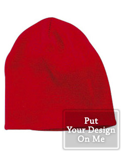 Custom knit hats