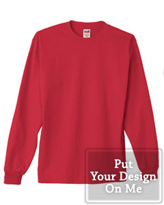 Personalized long sleeve tee